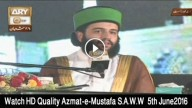Azmat-e-Mustafa S.A.W.W Conference Live Part 3 5th June 2016