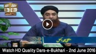 Dars-E-Bukhari 2nd June2016