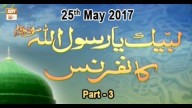 Labbaik Ya Rasool Allah Conference – 25th May 2017 – Part 3