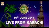 REHMAT E SAHAR (LIVE From Karachi) – 16th June 2017